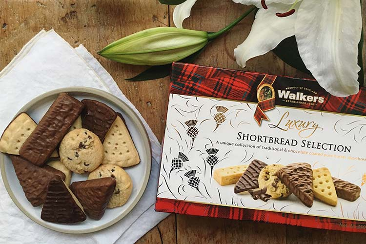 Top Food Feinkost - Walkers Luxury Shortbread mit Schoko