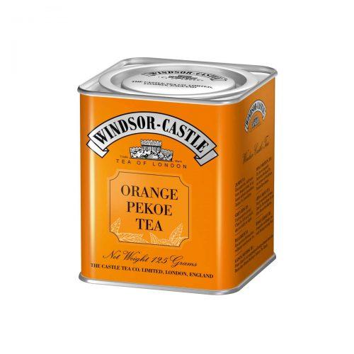 Top Food Feinkost - Windsor - Castle Orange Pekoe Tea 125g - Dose. Schwarzer Tee - Feiner Ceylon Tea Broken - Geschenkdose