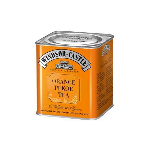 Top Food Feinkost - Windsor - Castle Orange Pekoe Tea 500g - Dose. Schwarzer Tee - Feiner Ceylon Tea Broken - Geschenkdose