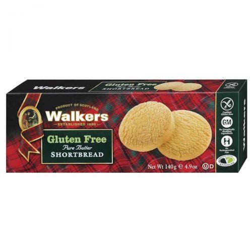 Top Food Feinkost - Walkers Shortbread Ltd. Gluten Free Shortbread Rounds 140g. Shortbread Rounds ohne Gluten