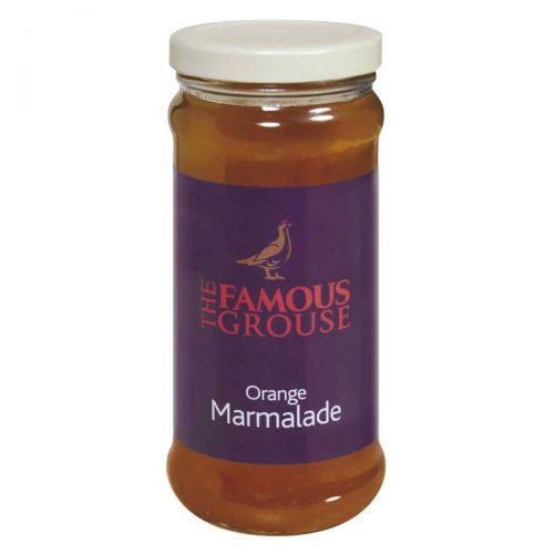 Top Food Feinkost - Elsenham The Famous Grouse Orange Marmalade 340g. Orangen Marmelade mit grob geschnittener Schale