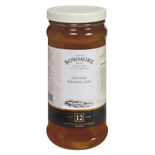 Top Food Feinkost - Elsenham Bowmore Islay Single Malt Scotch Whisky Marmalade 340g. Orangen Marmelade mit grob geschnittener Schale