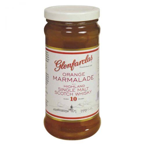 Top Food Feinkost - Elsenham Glenfarclas Orange Marmalade 340g. Orangen Marmelade mit fein und grob geschnittener Schale