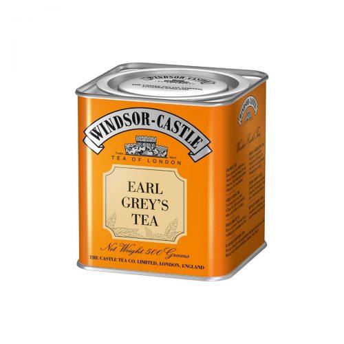 Top Food Feinkost - Windsor - Castle Earl Grey's Tea 500g - Dose. Schwarzer Tee aromatisiert - Exquisite Teemischung mit Bergamottaroma - Geschenkdose