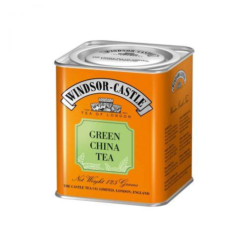 Top Food Feinkost - Windsor - Castle Green China Tea 125g - Dose. Grüner Tee - Kräftiger China Grüntee (unfermentiert) - Geschenkdose