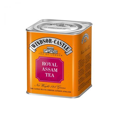 Top Food Feinkost - Windsor - Castle Royal Assam Tea 125g - Dose. Schwarzer Tee - Feinster Assam Tee Broken mit leichter Malznote - Geschenkdose