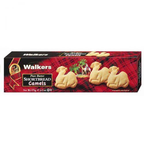 """Top Food Feinkost - Walkers Shortbread Ltd. """"Camels"""" Shortbread 175g. Shortbread in Form kleiner Kamele"""