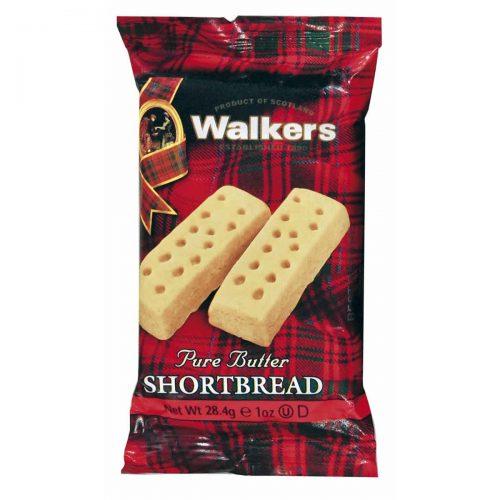 Top Food Feinkost - Walkers Shortbread Ltd. Shortbread Fingers 28g. Je 2 Shortbread Fingers in Folie verpackt