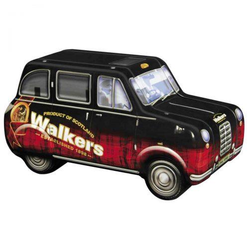 "Top Food Feinkost - Walkers Shortbread Ltd. ""London Taxi"" Mini Shortbread Fingers 200g - Dose. Das weltberühmte Londoner Taxi als hochwertige Geschenkdose gefüllt mit Mini Shortbread Fingers"