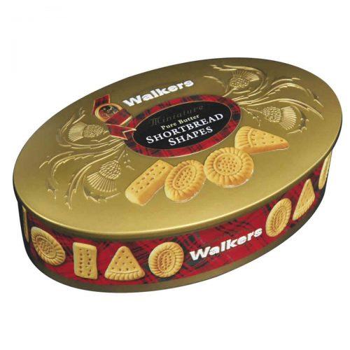 "Top Food Feinkost - Walkers Shortbread Ltd. ""Oval Gold"" Shortbread 175g - Dose. Edle"