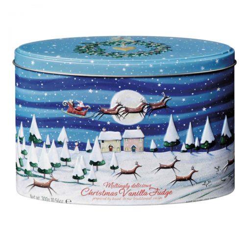 """Top Food Feinkost - Gardiners of Scotland """"Christmas Night"""" Vanilla Fudge 300g - Dose. Butterkaramell mit Vanillegeschmack in einer attraktiven"""