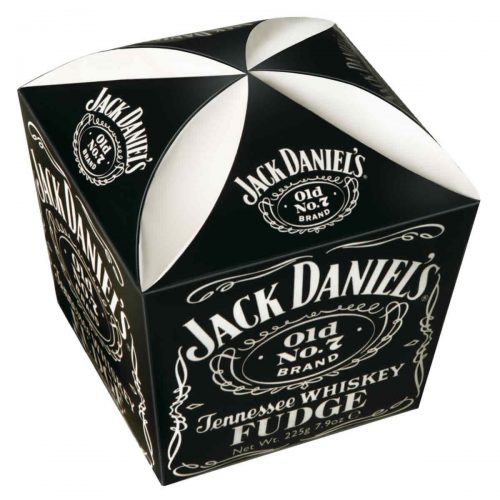 Top Food Feinkost - Gardiners of Scotland Jack Daniel´s Whiskey Fudge 250g. Weiches Butterkaramell mit einem Schuss Jack Daniel's Tennessee Whisky in einer wiederverschließbaren Geschenkpackung