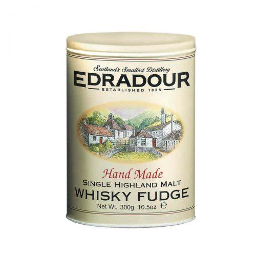 Top Food Feinkost - Gardiners of Scotland Edradour Malt Whisky Fudge 300g - Dose. Weiches Butterkaramell mit einem Schuss Edradour Single Highland Malt Whisky von der kleinsten Destillerie Schottlands in einer attraktiven Geschenkdose