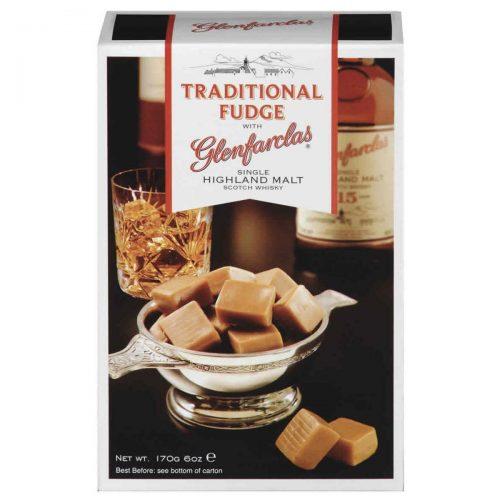 Top Food Feinkost - Gardiners of Scotland Glenfarclas Malt Whisky Fudge 170g. Weiches Butterkaramell mit einem Schuss Glenfarclas Single Malt Whisky in einer Geschenkpackung