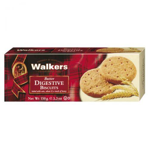 Top Food Feinkost - Walkers Shortbread Ltd. Butter Digestive Biscuits 150g. Original schottische Vollkorn & Butter Cookies