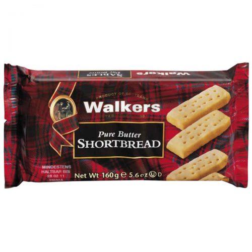 Top Food Feinkost - Walkers Shortbread Ltd. Shortbread Fingers 160g. Shortbread Fingers im Flow-Pack