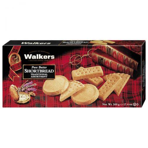 Top Food Feinkost - Walkers Shortbread Ltd. Traditional Shortbread Assortment 500g. Gebäckmischung mit den drei beliebtesten Sorten: Fingers