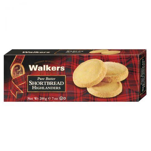 Top Food Feinkost - Walkers Shortbread Ltd. Shortbread Highlanders 200g. Shortbread Highlanders mit knusprigem Demerara Zuckerrand
