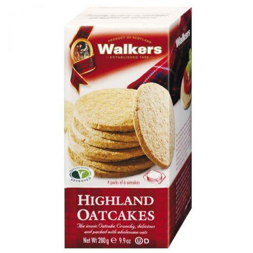 Top Food Feinkost - Walkers Shortbread Ltd. Highland Oatcakes 280g. Original schottisches Hafergebäck