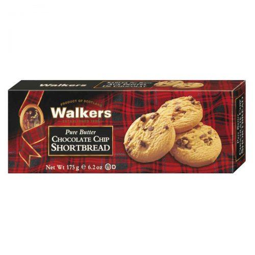 Top Food Feinkost - Walkers Shortbread Ltd. Chocolate Chip Shortbread 175g. Schottisches Buttergebäck mit feinen Schokostückchen