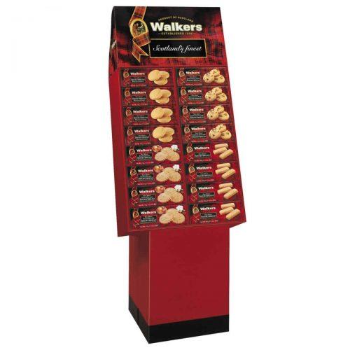 Top Food Feinkost - Walkers Shortbread Ltd. Shortbread Display 4-fach sortiert. 20 x Artikel 2036 Shortbread Highlanders