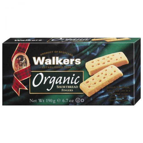Top Food Feinkost - Walkers Shortbread Ltd. Organic Shortbread Fingers - BIO 190g. Schottisches Bio-Buttergebäck in der klassischen Fingers Form