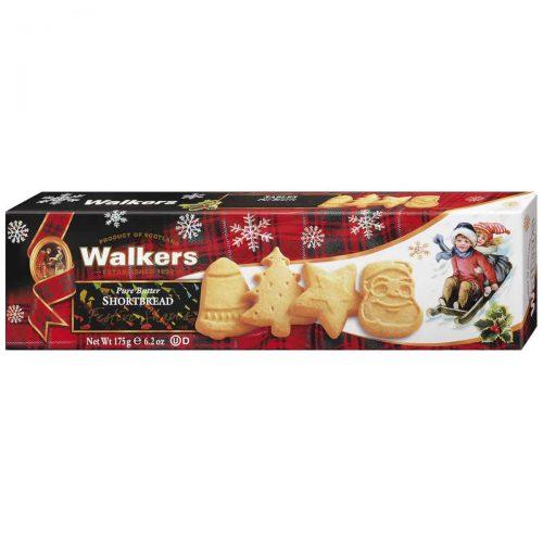 Top Food Feinkost - Walkers Shortbread Ltd. Festive Shapes Shortbread 175g. Shortbread in weihnachtlichen Formen: Glocke