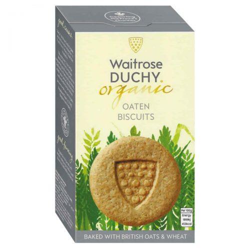 Top Food Feinkost - Waitrose Duchy Organic Original Oaten Biscuits - BIO 150g. Bio Hafergebäck