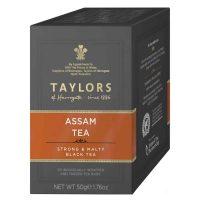 Top Food Feinkost - Taylor's of Harrogate Assam Tea 50g - 20 Teebeutel. Feinster Assam Tee der Second Flush Saisonpflückung