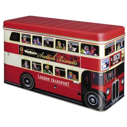 """Top Food Feinkost - Walkers Shortbread Ltd. """"London Bus"""" Biscuit Selection 450g - Dose. eine Auswahl der besten Walkers Biscuits"""