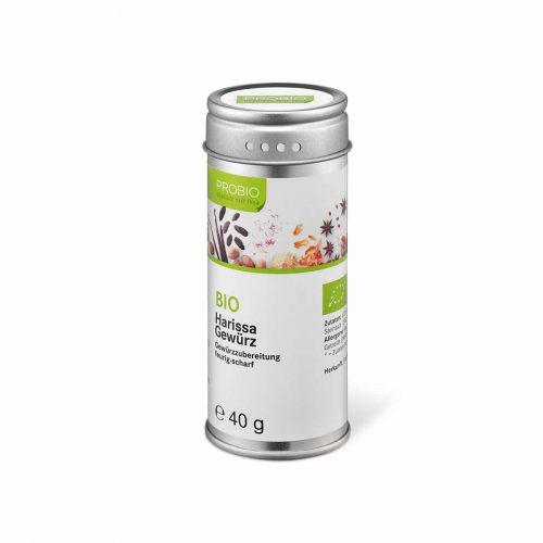 Top Food Feinkost - Probio Harissa BIO 40g. Gewürzzubereitung - feurig-scharf