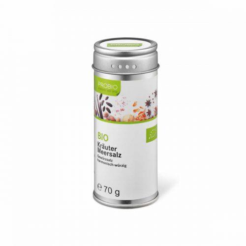 Top Food Feinkost - Probio Kräuter Meersalz BIO 70g. Gewürzsalz - harmonisch-würzig