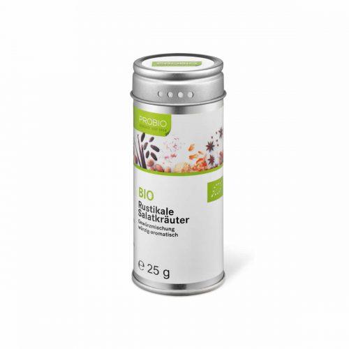 Top Food Feinkost - Probio Rustikale Salatkräuter BIO 25g. Gewürzmischung - würzig-aromatisch