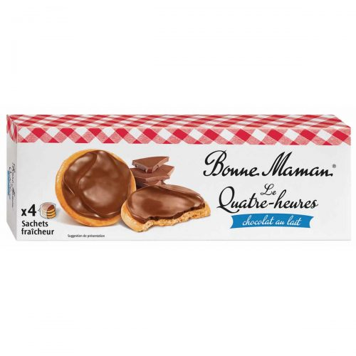 Top Food Feinkost - Bonne Maman Le Quatre-heures 160g. Knuspriges Feingebäck mit Milchschokolade und Butter