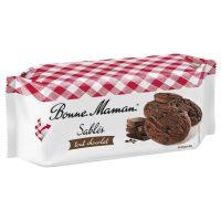 Top Food Feinkost - Bonne Maman Sablés tout chocolat 150g. Kleine Schokoladencookies mit dunkler Schokolade und vielen Schokostückchen