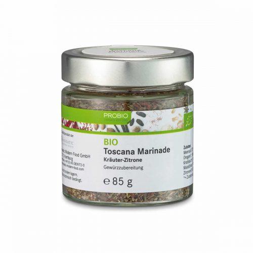Top Food Feinkost - Probio Toscana Marinade BIO 85g. Gewürzzubereitung - Kräuter-Zitrone