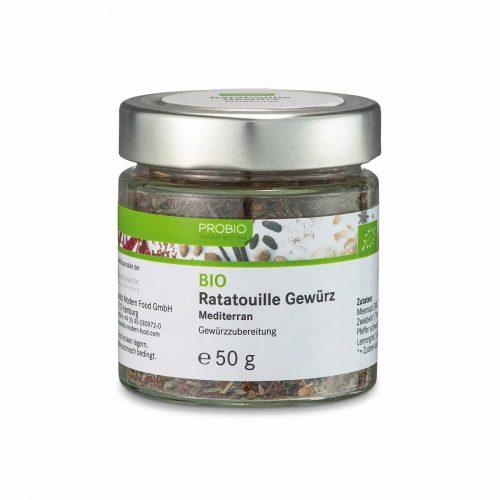 Top Food Feinkost - Probio Ratatouille Gewürz BIO 50g. Gewürzzubereitung - Mediterran