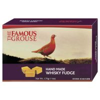 Top Food Feinkost - Gardiner's of Scotland Famous Grouse Whisky Fudge 170g. Weiche Butterkaramellen mit einem Schuss Famous Grouse Blended Scotch Whisky in einer Geschenkpackung