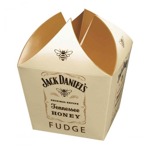 Top Food Feinkost - Gardiners of Scotland Jack Daniel´s Honey Whiskey Fudge 250g. Weiches Butterkaramell mit einem Schuss Jack Daniels Honey Liqueur in einer Geschenkpackung
