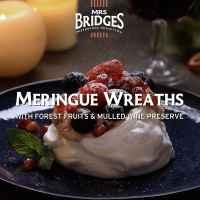 Top Food Feinkost - Mrs Bridges Rezept Meringue Wreaths