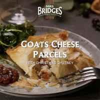 Top Food Feinkost - Ziegenkäse-Filo-Päckchen mit Mrs. Bridges Christmas Chutney