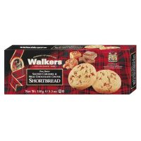 Top Food Feinkost - Walkers Shortbread Ltd. Salted Caramell Shortbread 150g. Schottisches Buttergebäck mit Salzkaramell und Milchschokoladenstückchen verfeinert