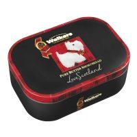 """Top Food Feinkost - Walkers Shortbread Ltd. """"Scottie Dog Keepsake"""" Shortbread 130g - Dose. 8 klassische Shortbread Rounds in hübscher Reliefdose mit Motiv des schottischen Terriers"""
