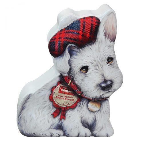 """Top Food Feinkost - Walkers Shortbread Ltd. """"Wee Scottie Dog Mac"""" Shortbread 200g - Dose"""