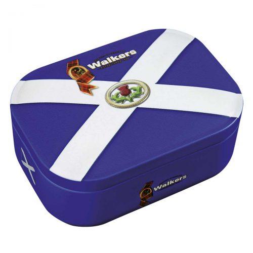 "Top Food Feinkost - Walkers Shortbread Ltd. ""Saltire"" Shortbread Rounds 136g - Dose. Shortbread Rounds in einer attraktiven Geschenkdose"