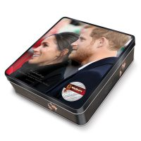 "Top Food Feinkost - Walkers Shortbread Ltd. ""Celebrating the Marriage Shortbread"" Prince Harry & Meghan 300g - Geschenkdose"