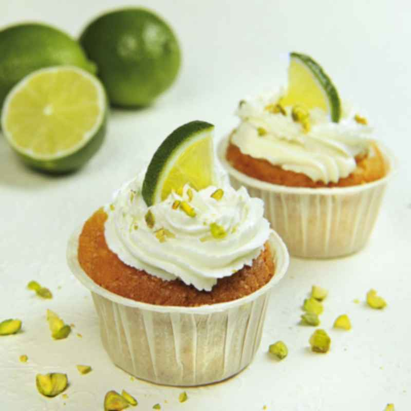 Top Food Feinkost - Lime Curd Muffins Mrs Bridges