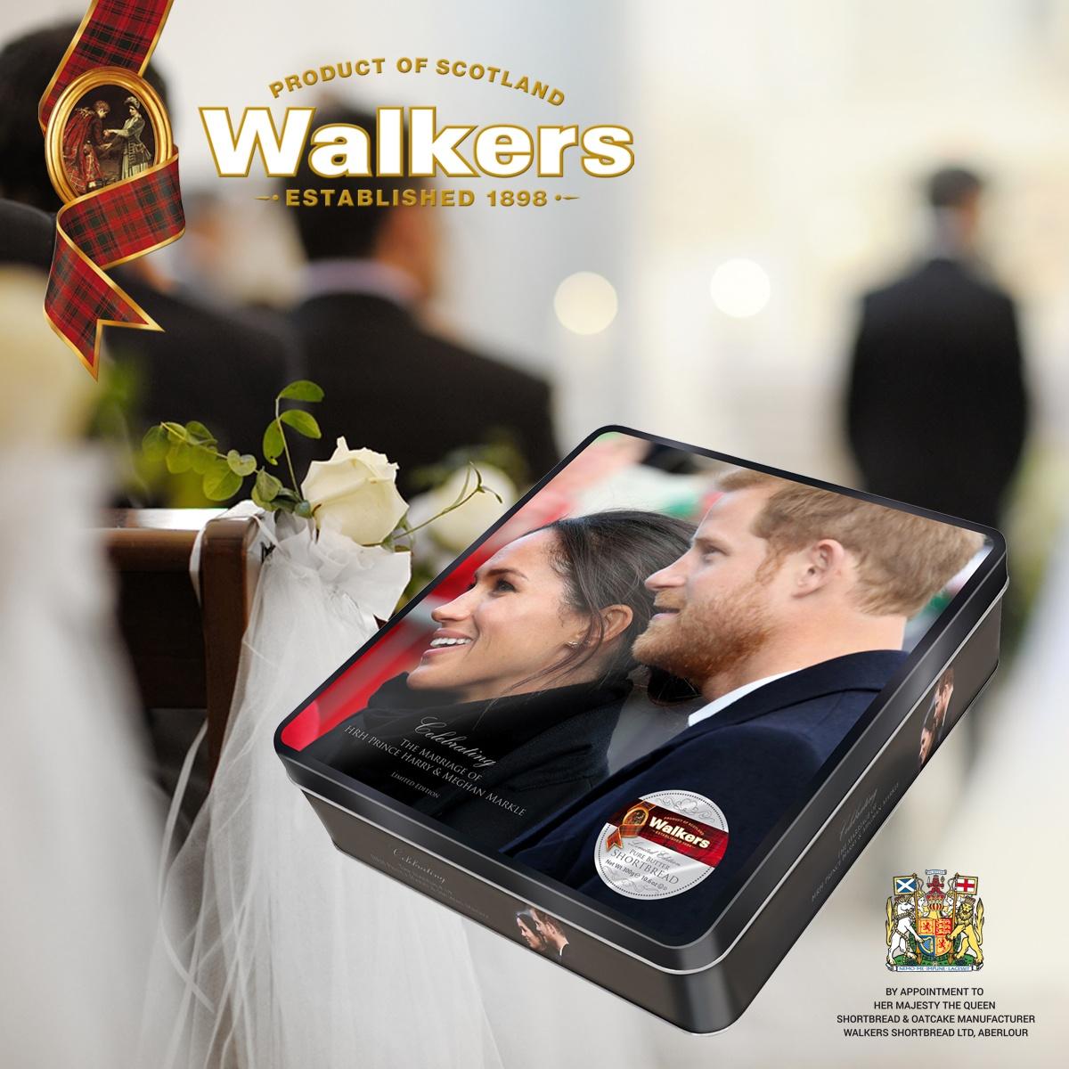 Top Food Feinkost - Walkers Shortbread Royal Wedding Prince Harry und Meghan MarkleTop Food Feinkost - Walkers Shortbread Royal Wedding Prince Harry und Meghan Markle