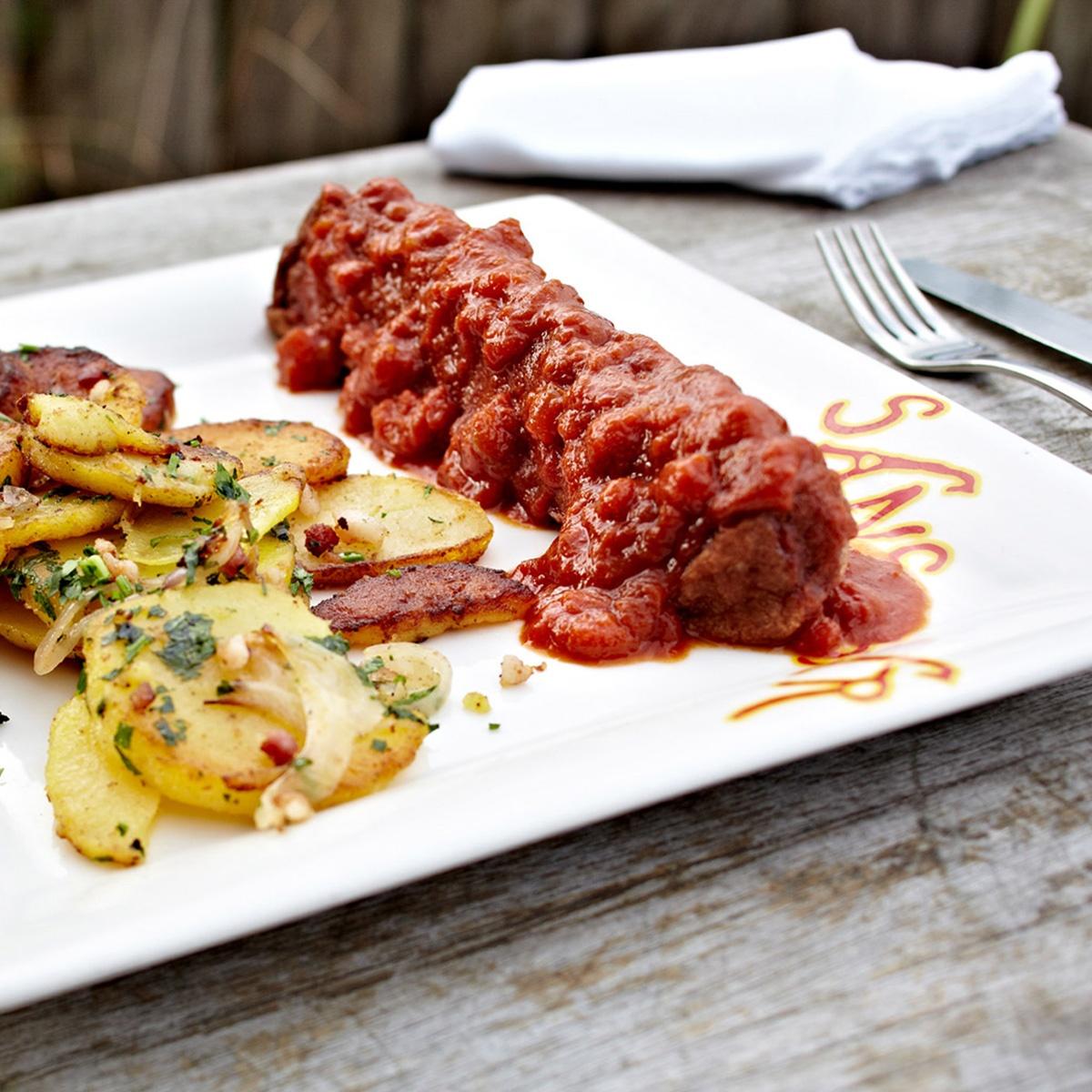 Top Food Feinkost - Original Sansibar Currywurst von Sylt