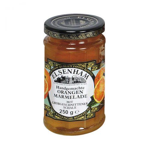 Top Food Feinkost - Elsenham Orangen  Marmelade grob geschnitten 250g |Handgemachte Orangen Marmelade mit grob geschnittener Schale